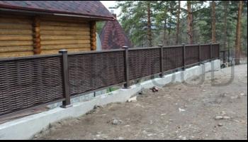 Забор от DeckWOOD
