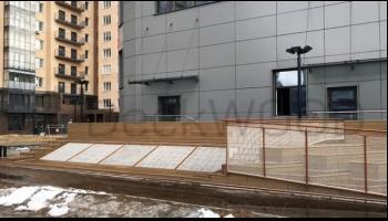 Террасная доска DeckWOOD в жилом комплексе SkySeven