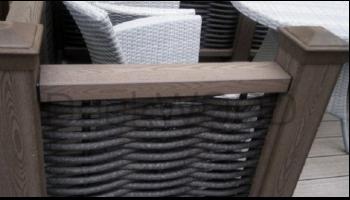 Ограждения из полимерной лозы DeckWOOD
